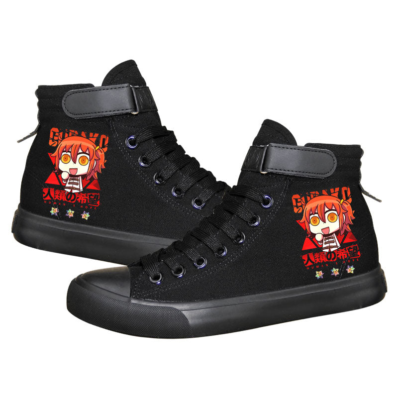 Fate Grand Order Gudako High Tops Casual Canvas Shoes Unisex Sneakers