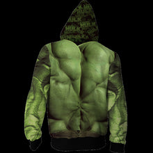 Load image into Gallery viewer, Avengers Endgame Hulk Cosplay Sweater Jacket For Adults