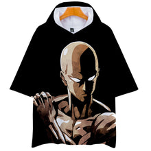 Load image into Gallery viewer, Anime One Punch Man Season 2 Hooded Short Sleeve T-shirts Cosplay Costume