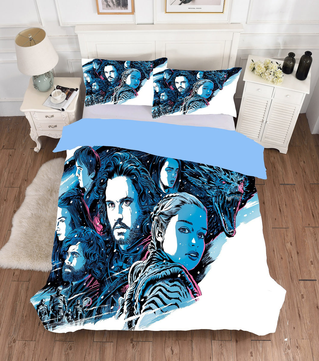 Game of Thrones Bedding Set Duvet Cover Set Bedroom Set Bedlinen 3D Printing