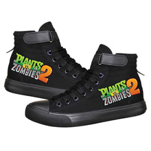 Load image into Gallery viewer, Game Plants VS Zombies High Top Sneaker Cosplay Shoes For Kids