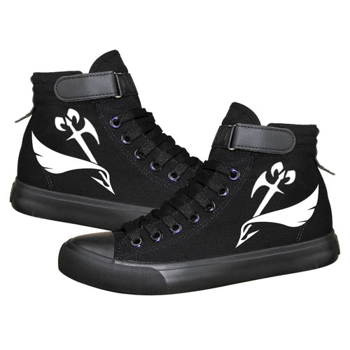 Game Devil May Cry 5 DMC Dante Nero High Top Sneaker Cosplay Shoes For Kids