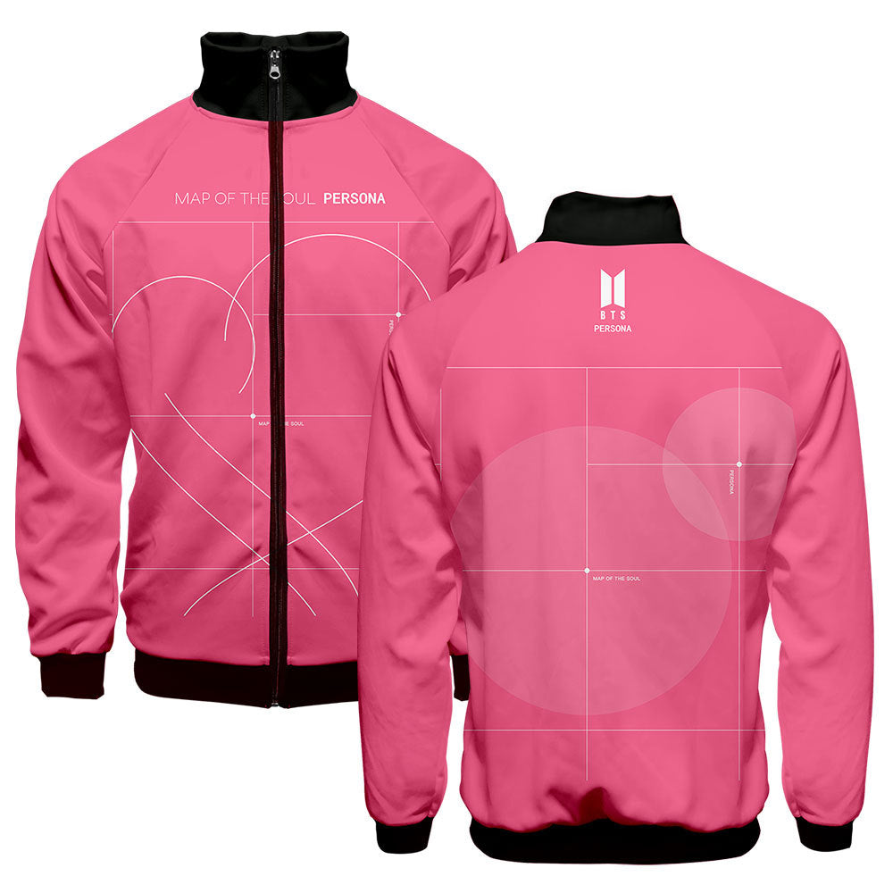 BTS Bangtan Boys New Album MAP OF THE SOUL PERSONA Fashion Jacket Coat