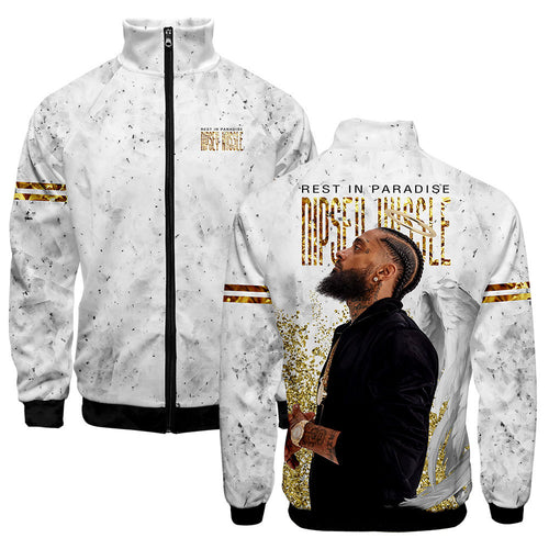 Nipsey Hussle Hip Hop Fashion Jacket Coat
