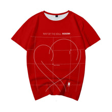 Load image into Gallery viewer, BTS Bangtan Boys New Album MAP OF THE SOUL PERSONA Fashion Men TEE Shirt