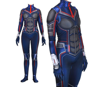Ant-Man 2 the Wasp Spandex Jumpsuits Cosplay Costume