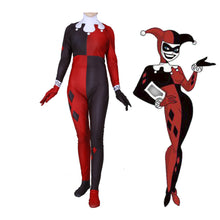 Load image into Gallery viewer, Suicide Squad Harley Quinn Spandex Jumpsuits Cosplay Costume