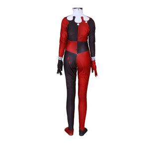 Suicide Squad Harley Quinn Spandex Jumpsuits Cosplay Costume