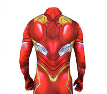 Load image into Gallery viewer, Avengers Endgame Iron Man Cosplay Costume Zentai Spiderman Superhero Bodysuit Suit Jumpsuits