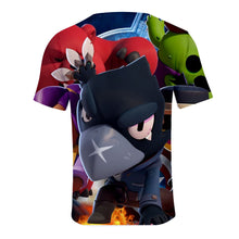 Load image into Gallery viewer, Game Brawl Stars 6 Modelos 3D Printed T Shirts Spring Tops Summer Tees For Adults Kids