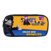 Load image into Gallery viewer, Game Brawl Stars School Stationery Boys Pen Bag Print Pencil Case