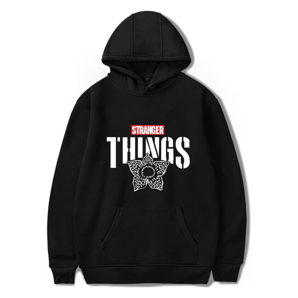 2019 Stranger Things Hoodie Classic Style Sweatshirt Pullover Top for Youth