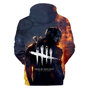 Game Dead By Daylight Trapper Cosplay Sweater Hoodie For Kids Adults