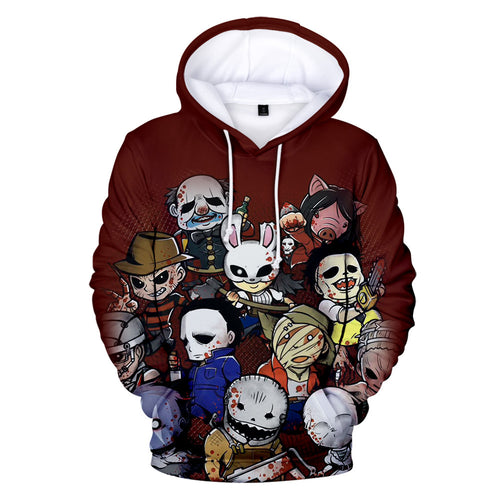 Game Dead By Daylight Cosplay Sweater Hoodie For Kids Adults