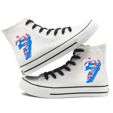Load image into Gallery viewer, BTS Map of the soul 7 #2 Fashion Shoes High Top Canvas Sneakers For Kids Adults