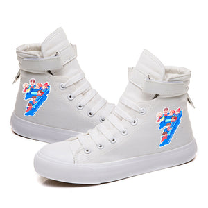 BTS Map of the soul 7 #6 High Tops Casual Canvas Shoes Unisex Sneakers