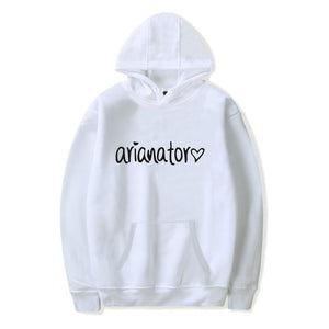 Ariana Grande #6 Hoodie Sweatshirt Pullover Hip Hop Top Sweater for Youth
