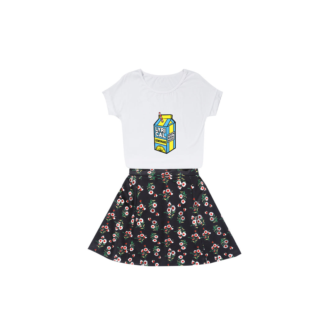 Lyrical Lemonade #1 Girls Suit Skirt Short Summer Dress Fashion Casual  Sweatshirt