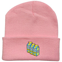 Load image into Gallery viewer, Lyrical Lemonade #2 Embroidered Woolen Hat Winter Knitted Hat Warm Hip-hop Cap