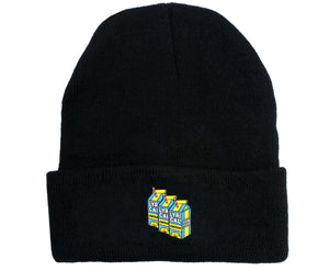 Lyrical Lemonade #2 Embroidered Woolen Hat Winter Knitted Hat Warm Hip-hop Cap