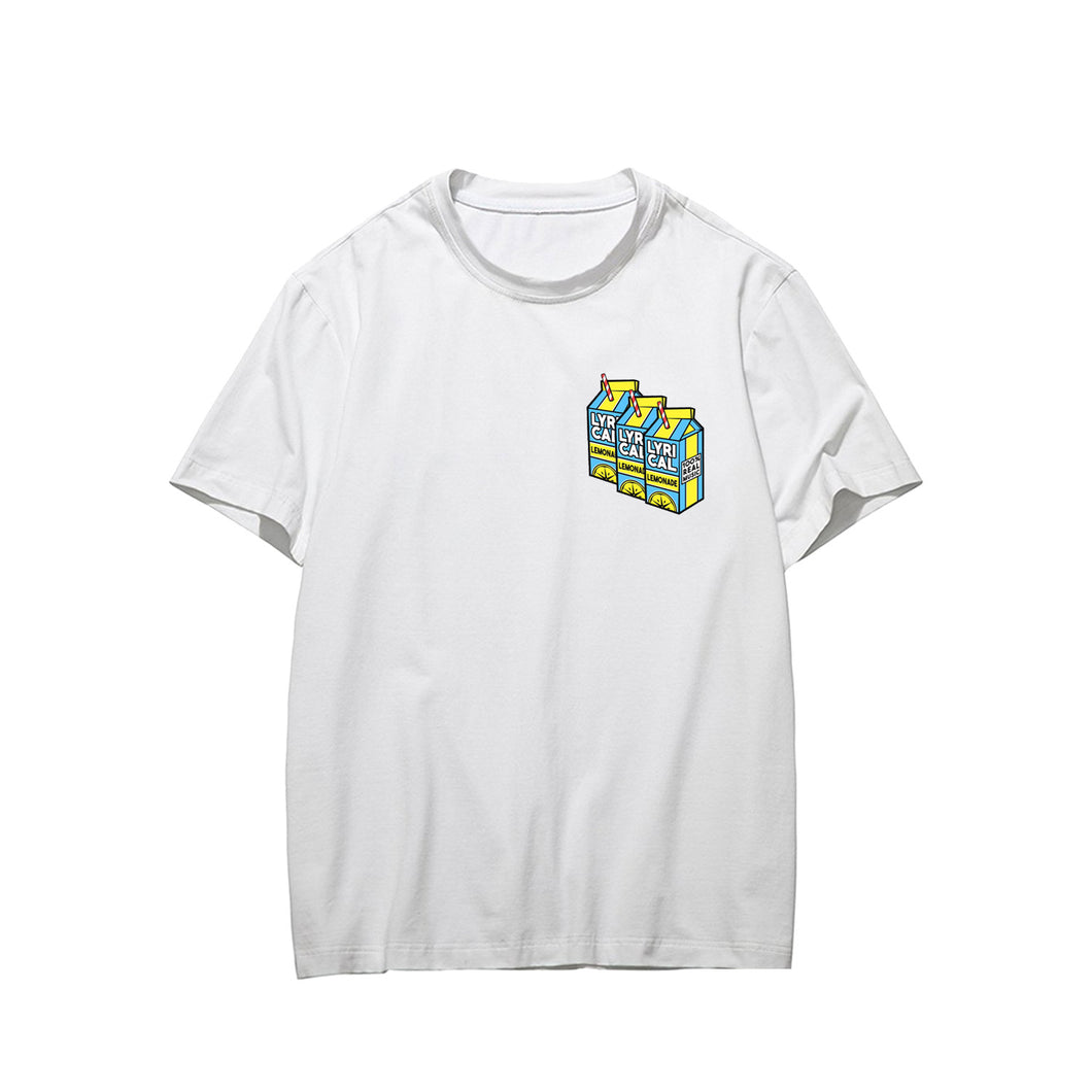 Lyrical Lemonade #3 Short Sleeve T-Shirt Loose Fashion Tee Shirt Tops