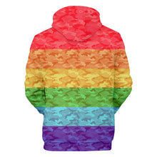 Load image into Gallery viewer, LGBT Adults Hooded Hoodie Loose Sports Fleece Casual Pull-over Coat Suit