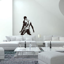 Load image into Gallery viewer, Football Star 7 Juventus Cristiano Ronaldo #2 Vinyl Decal Gaming Bedroom Sticker Wall Art