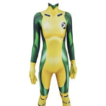 Load image into Gallery viewer, X-MEN Rogue Jumpsuit  Halloween Cosplay Costume Bodysuit
