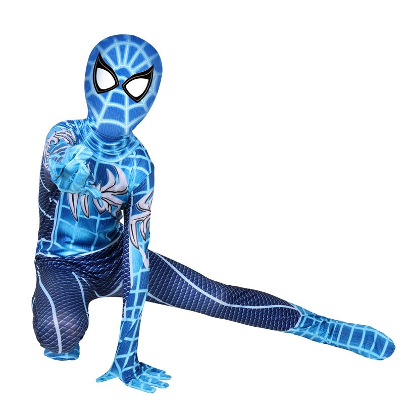 Spider-Man New Jumpsuits Uniform Halloween Cosplay Costume Spiderman Bodysuit For Kids