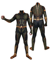 Load image into Gallery viewer, DC Aquaman Jumpsuits Halloween Cosplay Costume Zentai Bodysuits