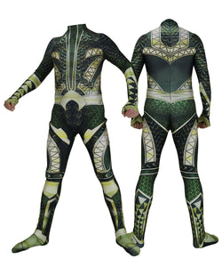DC Aquaman Jumpsuits Halloween Cosplay Costume Zentai Bodysuits