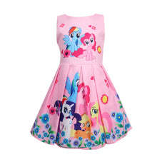 Load image into Gallery viewer, Gilrs Blossom Chiffon Dresses Cute Christmas Princess Dress Skirt Stage Underdress