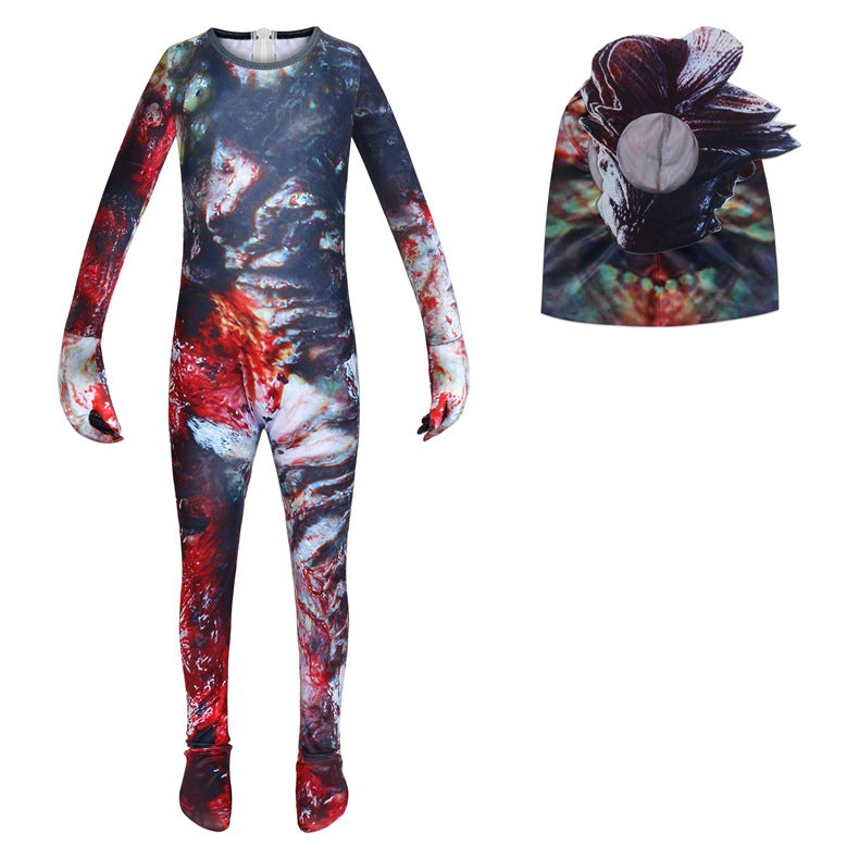 The Last of Us Part II Game Jumpsuits Uniform Halloween Cosplay Costume Bodysuit For Kids