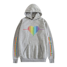 Load image into Gallery viewer, LGBT #2 Adults Hooded Hoodie  Unisex  Fleece-lined Sweatshirt Casual Pull-over Outwear