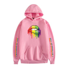 Load image into Gallery viewer, LGBT #3 Adults Hooded Hoodie  Unisex  Fleece-lined Sweatshirt Casual Pull-over Outwear