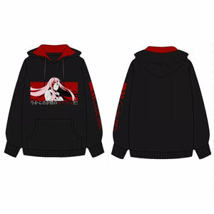 Darling in the Franxx Unisex Hoodie Sweater Cosplay Costume