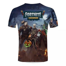 Load image into Gallery viewer, Fortnite New Short Sleeve T-shirt 3D Printed Round Neck Shirts Summer Fashion
