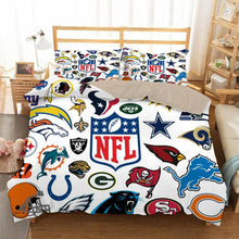 Load image into Gallery viewer, NFL Football #20 Duvet Cover Quilt Cover Pillowcase Bedding Set Bed Linen Home Bedroom Decor