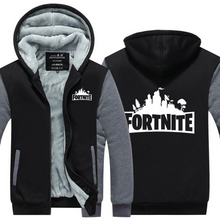 Load image into Gallery viewer, Game Fortnite Cosplay Hoodie Wool Fleece Coat For Adults