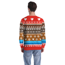 Load image into Gallery viewer, Fortnite Llama Sweater Ugly Christmas