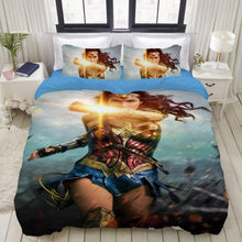 Load image into Gallery viewer, Wonder Woman Diana Prince #16 Duvet Cover Quilt Cover Pillowcase Bedding Set Bed Linen Home Bedroom Decor