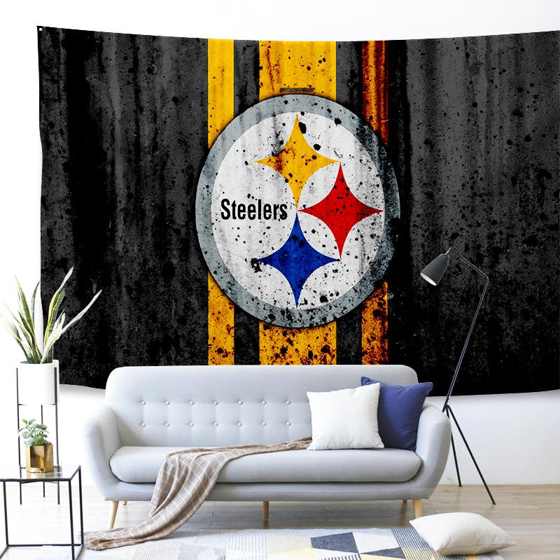 Pittsburgh Steelers NFL #3 Wall Decor Hanging Tapestry Home Bedroom Living Room Decoration