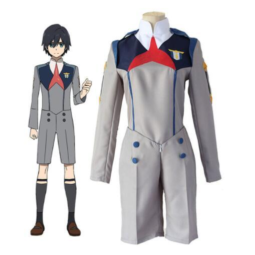 DARLING in the FRANXX Hiro 016 School Uniform Cosplay Costume