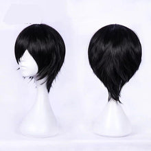 Load image into Gallery viewer, DARLING in the FRANXX Hiro 016 Wig Short Black Hair Cosplay