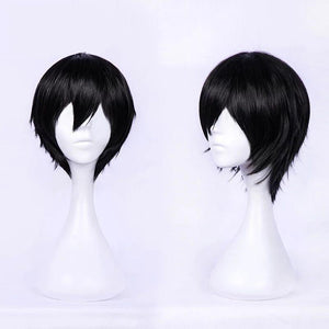 DARLING in the FRANXX Hiro 016 Wig Short Black Hair Cosplay