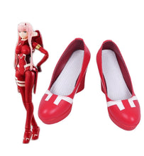 Load image into Gallery viewer, DARLING in the FRANXX Zero Two 002 High Heel Red  Shoes Fashion Cosplay Shoes