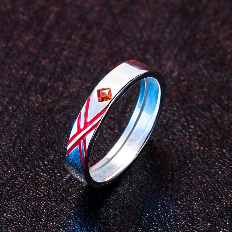 DARLING in the FRANXX Zero Two Cosplay Couple Rings