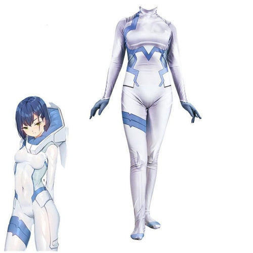 Japan Anime Darling in the FRANXX Ichigo 015 Jumpsuit Women Cosplay Costume