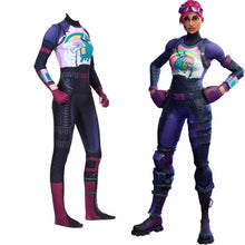 Load image into Gallery viewer, Fortnite Brite Bommber Jumpsuit Halloween Cosplay Costume