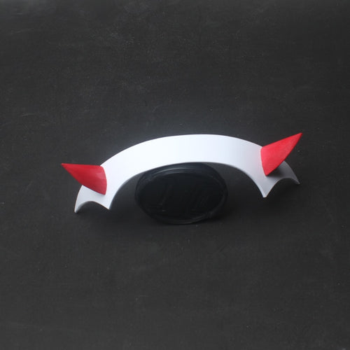 DARLING in the FRANXX Zero Two Cosplay Prop Headwear PVC Horn Headband Hairband